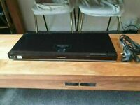 Panasonic DMP-BDT210 Integrated-Wi-Fi 3D Blu-ray DVD Player NO CONTROL GOOD CONDITION