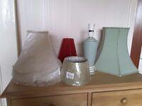Assortment of Elegant Lampshades/Ceiling Shade