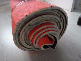 10mm Thick - Foam Carpet Underlay - High Quality - left from whole big roll