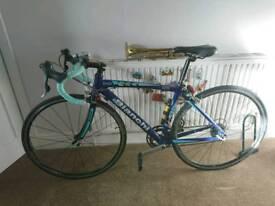 Bianchi road bike bicycle sport 44cm frame blue, shimano