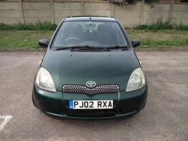 2002 Toyota Yaris 1.3 Auto