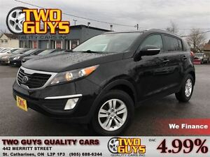 2012 Kia Sportage LX FWD (A6) NICE LOCAL TRADE IN!