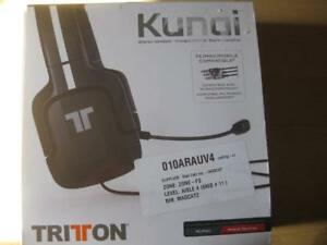 MadCatz TRITTON Kunai Stereo Gaming Headset / Headphones Mic for Sony PS4 / PS3 / Computer / Desktop / MacBook / Phone.