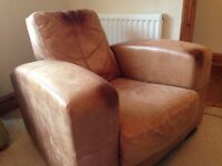 Leather armchair 'Caesar Armchair'