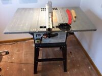 Table saw - 1500w 254mm blade.