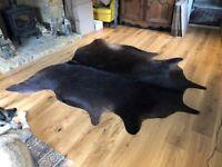 Ikea Koldby Cow Hide carpet/Rug rrp £180