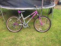 "Ladies silverfox bike 26"" wheels"