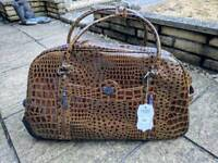 LYDC London Travel Holdall with Wheels