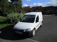Great little Vauxhall Combo Van first registered 24th December 2008 Tested till October 5th 2017