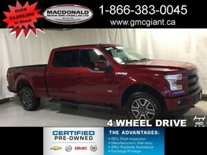 2015 Ford F-150 Lariat - Leather Seats -  Bluetooth - $303.94 B/