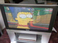 37 inch Plasma tv with Humax Freeview box / 160gb