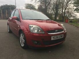 2006 (56 reg) Ford Fiesta 1.4 Ghia 5dr ONE OWNER FROM NEW FULL SERV HISTORY LEATHER 2 KEYS SUPERB!!