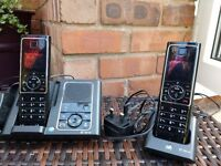 Free: BT Verve 450 Trio home phones with answering machine