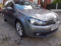 Volkswagen VW Golf GT TDI 140 2009 09 Grey 5 Door FSH Long MOT - OPEN TO OFFERS