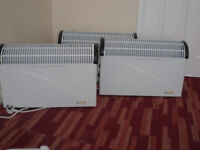 Elertric heaters. Three matching heaters. All in as new condition £30 the lot.