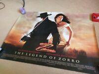 Original cinemas poster, The legend of Zorro