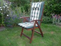 Royal Craft Chairs & Cushions - Set of 6.