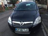 Excellent condition 7 seater Vauxhall Zafira 1.9 CDTI A Exclusive. Long MOT, 3 previous owners..