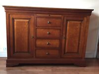 Wesley-Barrell Cherrywood Sideboard and Bookcase