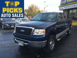 2007 Ford F-150 XLT, EXT CAB, 4X4, POWER GROUP, ONLY 110,000 KMS