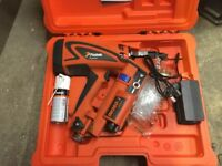 First fix nail gun 360ci paslode barely used , with 3 boxes nails