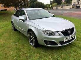 SEAT EXEO 2.0 TDI CR, NEW 19 INCH TTRS ALLOYS **FINANCE THIS FROM £32 PER WEEK**
