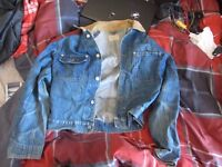 Ralph Lauren 'Polo' Denim Jacket - Corduroy Collar - MEN'S MEDIUM