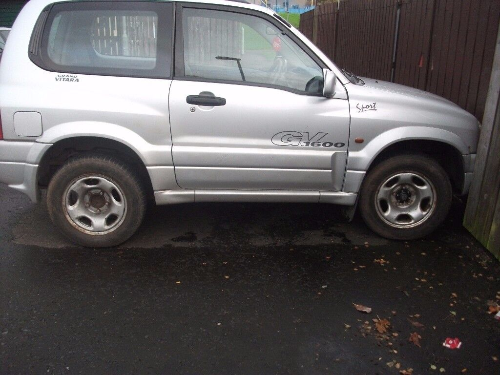 2002 suzuki grand vitara 4x4 cheap winter jeep 4wd quad van motd 2018 spares repair parts in. Black Bedroom Furniture Sets. Home Design Ideas