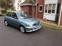 NISSAN MICRA 1.0 SE 5 DOOR ONLY 52895 MILES FROM NEW IN FANTASTIC