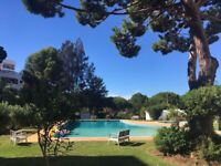 Holiday apartment in Vilamoura, 2 beds, 1. 1/2 baths, week in Sept. or Oct. £550 incl. half term