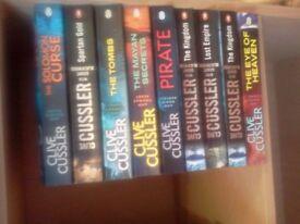Clive Cussler books Fargo adventures 9 titles