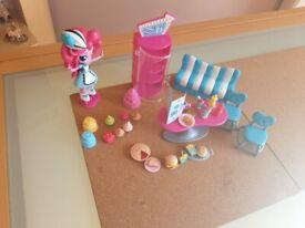 My little pony Pinky pie sweets snacks cafe