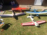 RC Job lot of model airplanes