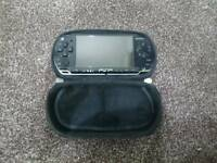 PSP 2000 series + 3 Games + Pouch