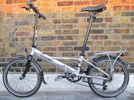 Dahon TR (24 Speed) Folding Bike With Bag & Extras