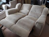 FREE DELIVERY! ***NEW*** 2-seater fabric electric recliner sofa