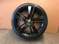 1 genuine F-type jaguar front 9x20 alloy wheel for sale £250 Ono call 07860431401
