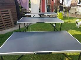 Folding tables sold