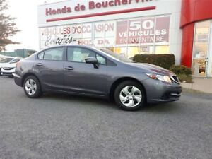 2014 Honda Civic LX Bluetooth, banc chauffant