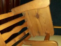Toddler's wooden Rocking Chair from smoke free home