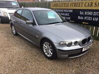 BMW 316 ti compact 04 Reg 1 year mot immaculate condition drives perfect with no issues