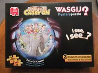 """2 X """"CARRY ON"""" WASGIJ JIGSAW PUZZLES"""