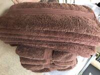 Matalan 6 bath towels + 6 hand towels