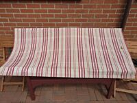Striped Roman Blind (170cm x 80cm)