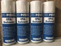 IPA solvent 400ml x 4