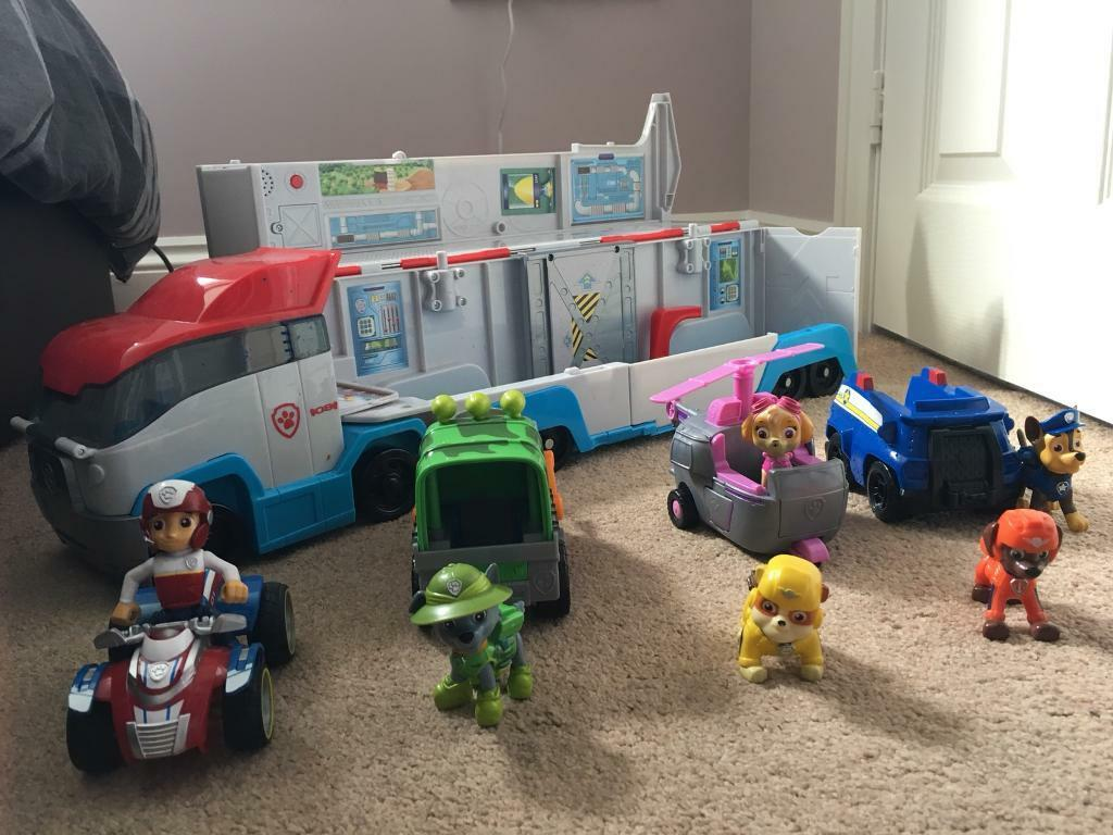 Paw Patrol Paw Patroller, Skye, Chase, Rocky & Ryder figures and vehicles,  rubble and Zumba figures | in Killingworth, Tyne and Wear | Gumtree