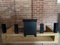 Sony BDV-E370 5.1 Home Cinema System: Speakers Only