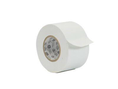 Wod Professional Grade White Vinyl Pvc Electrical Tape 2 X 66 Flame Retardant