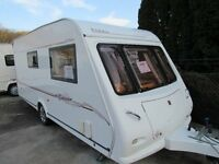 Elddis Odysey Sunseeker 482 2 Berth End Bathroom Touring Caravan 2005