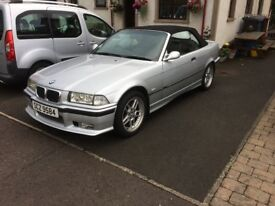 BMW E35 convertible *LOW MILEAGE & 12 MONTHS MOT*